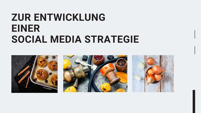 entwicklung social media strategie