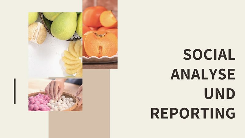social analyse reporting