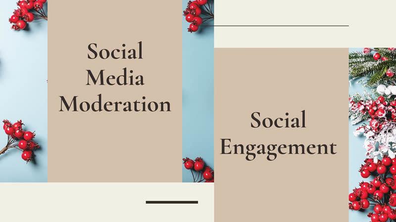 social media moderation social engagement