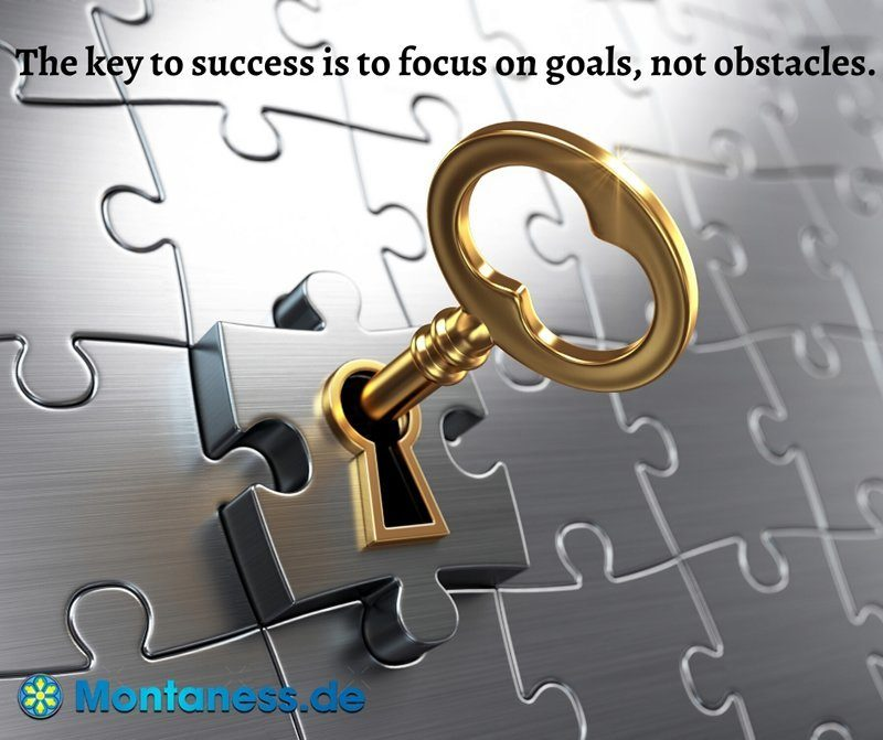 050-The key to success is to focus on goals