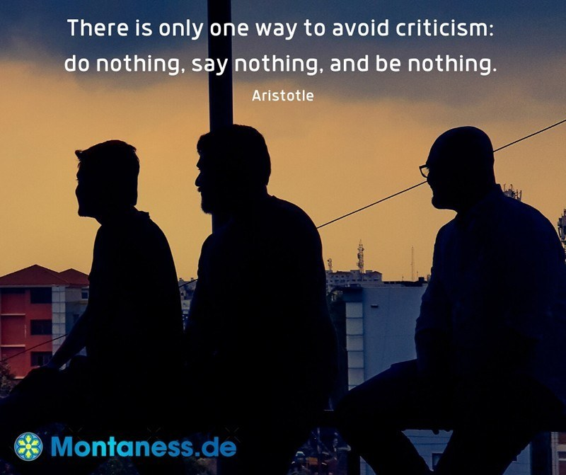 057-There is only one way to avoid criticism