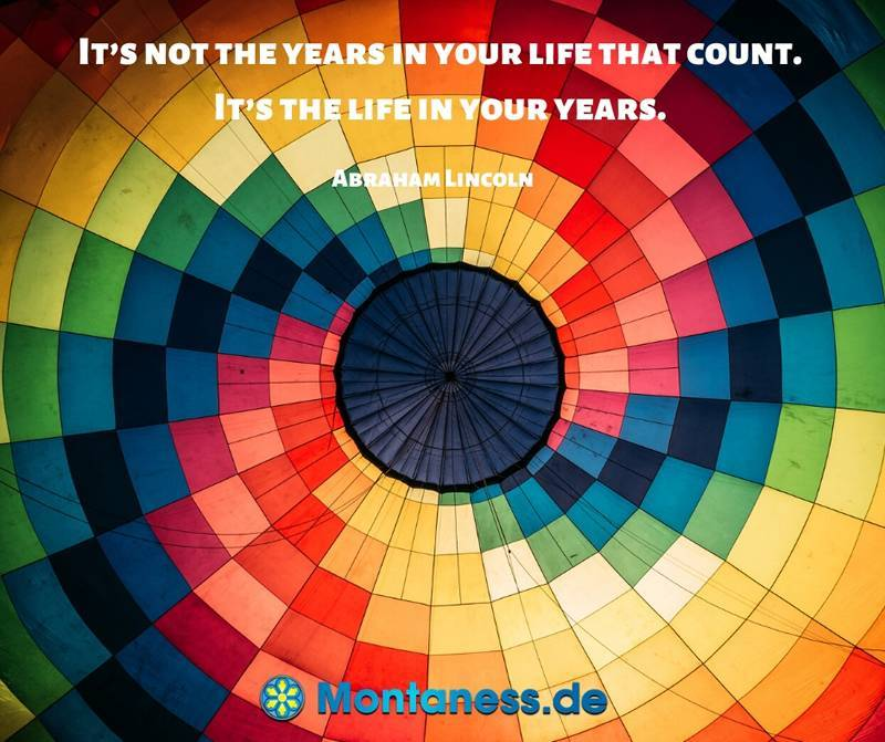 081-Its not the years in your life