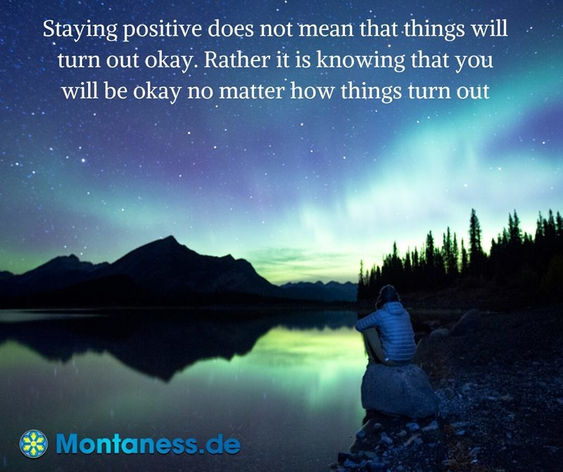 125-Staying positive does not mean