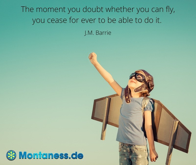 157-The moment you doubt whether you can fly