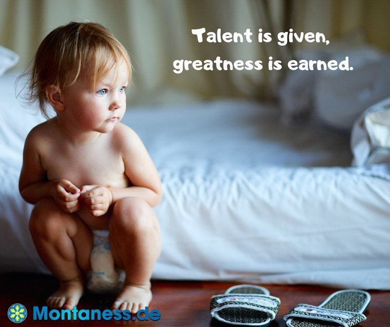 160-Talent is given greatness is earned