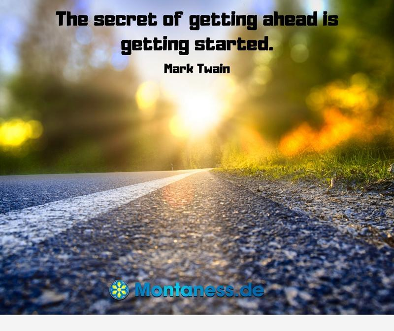 177-The secret of getting ahead is getting started
