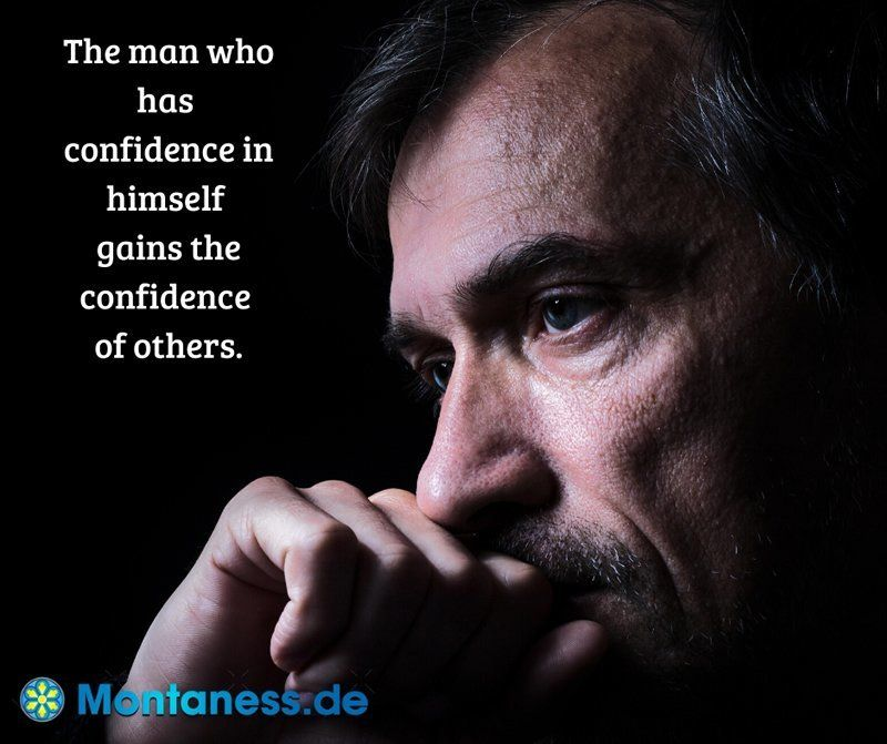 191-The man who has confidence in himself
