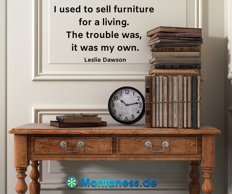 236-I used to sell furniture for a living