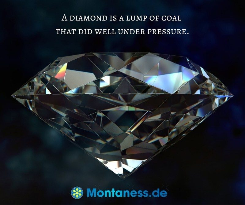 271-A diamond is a lump of coal