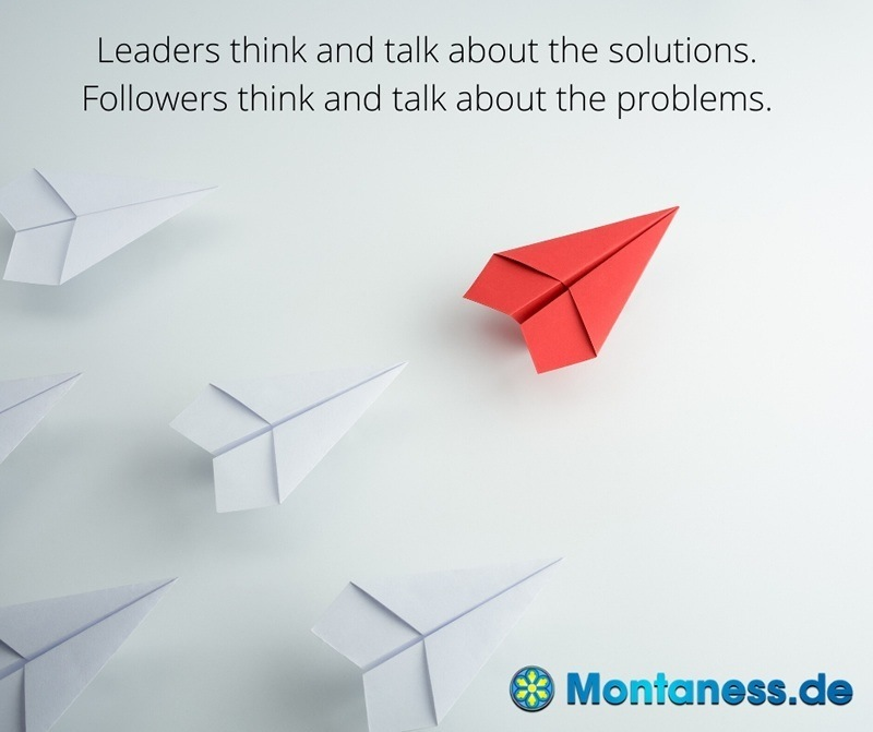 297-Leaders think and talk about solutions