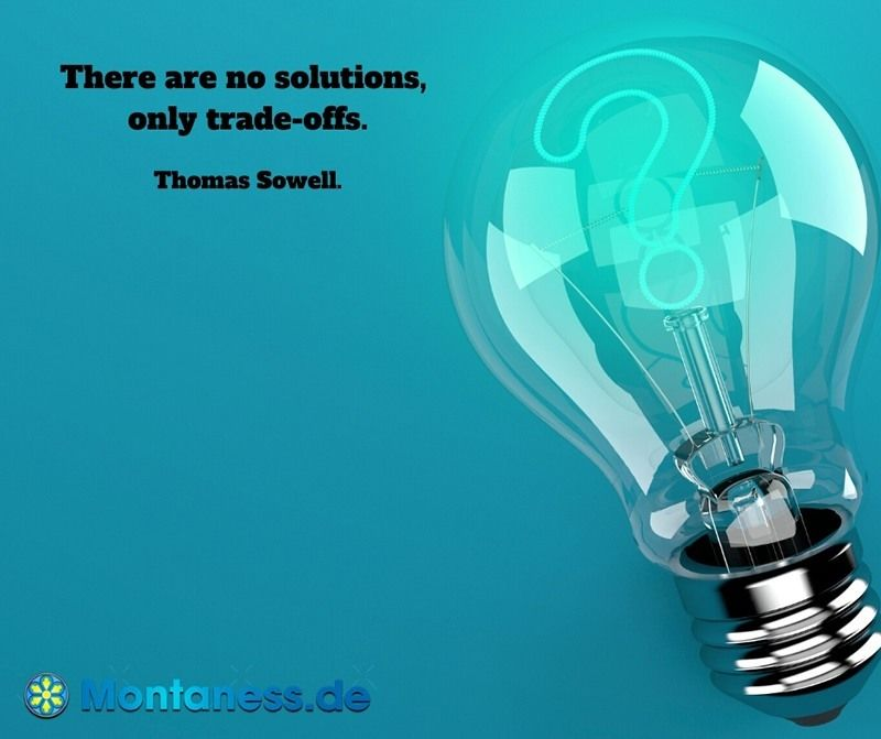 323-There are no solutions only trade-offs
